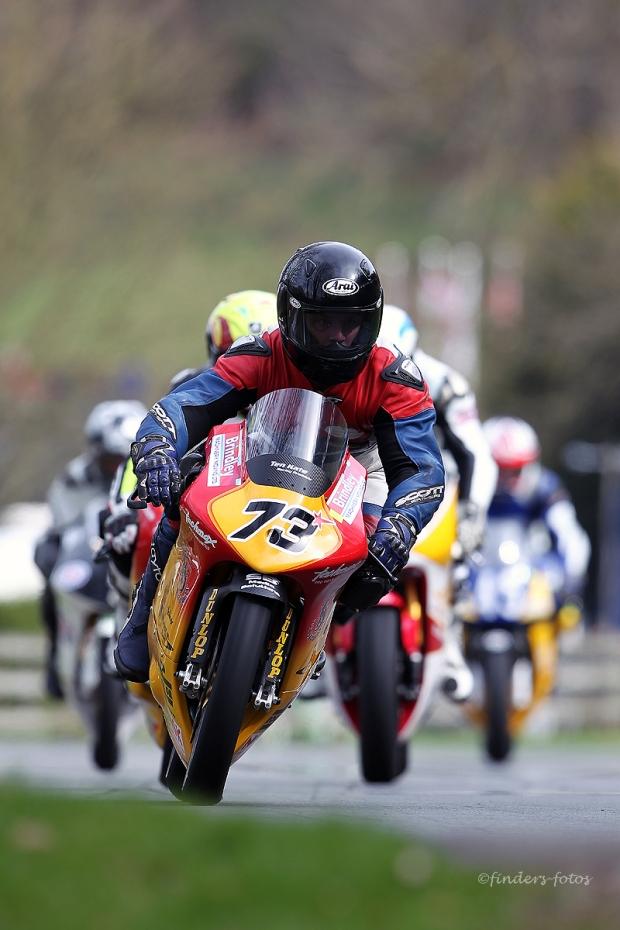 Justin Waring 250 Honda Moto 3
